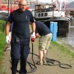 Meeste schepen gearriveerd in Den Helder