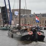 Vlootschouw historische schepen Zaanstad