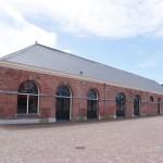 De Traditionele Schepen Beurs wordt gehouden in Gebouw 66, de voormalige mastenmakersloods (foto PAS Publicaties).