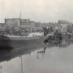 Handelskade in Vreeswijk in 1940 (collectie Jaap Boersma)