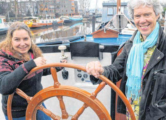 Tjalkendag Zoutkamp trekt aandacht regionale media