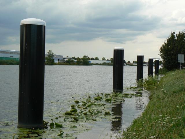 Rijnhaven in Alphen ad Rijn: liggen?