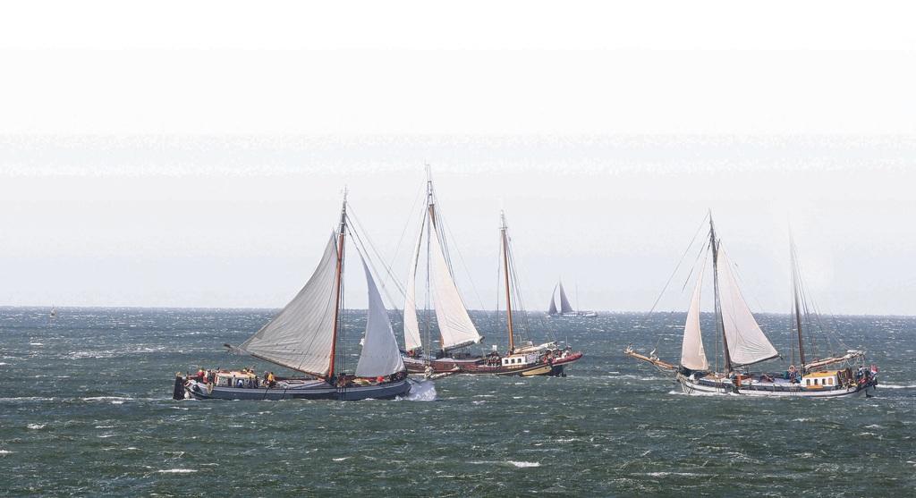 Historische vloot gebukt onder regelzucht