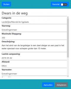 screenshot ligplek details-adopteren