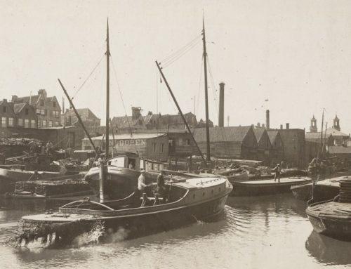 De werven van Hinloopen in Amsterdam