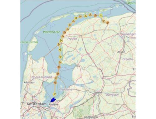 De zak lijnzaad met de Avontuur naar Amsterdam