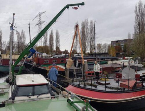 Zak met lijnzaad overwintert in Wageningen