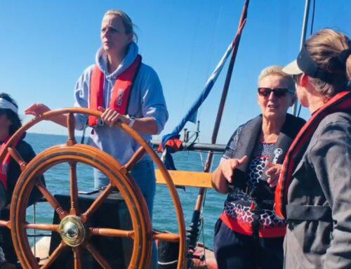 Stuurvrouwen op de Zeeuwse Stromen